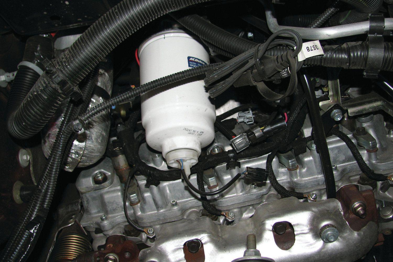 troca de filtros - mundial turbinas 2014 duramax fuel filter